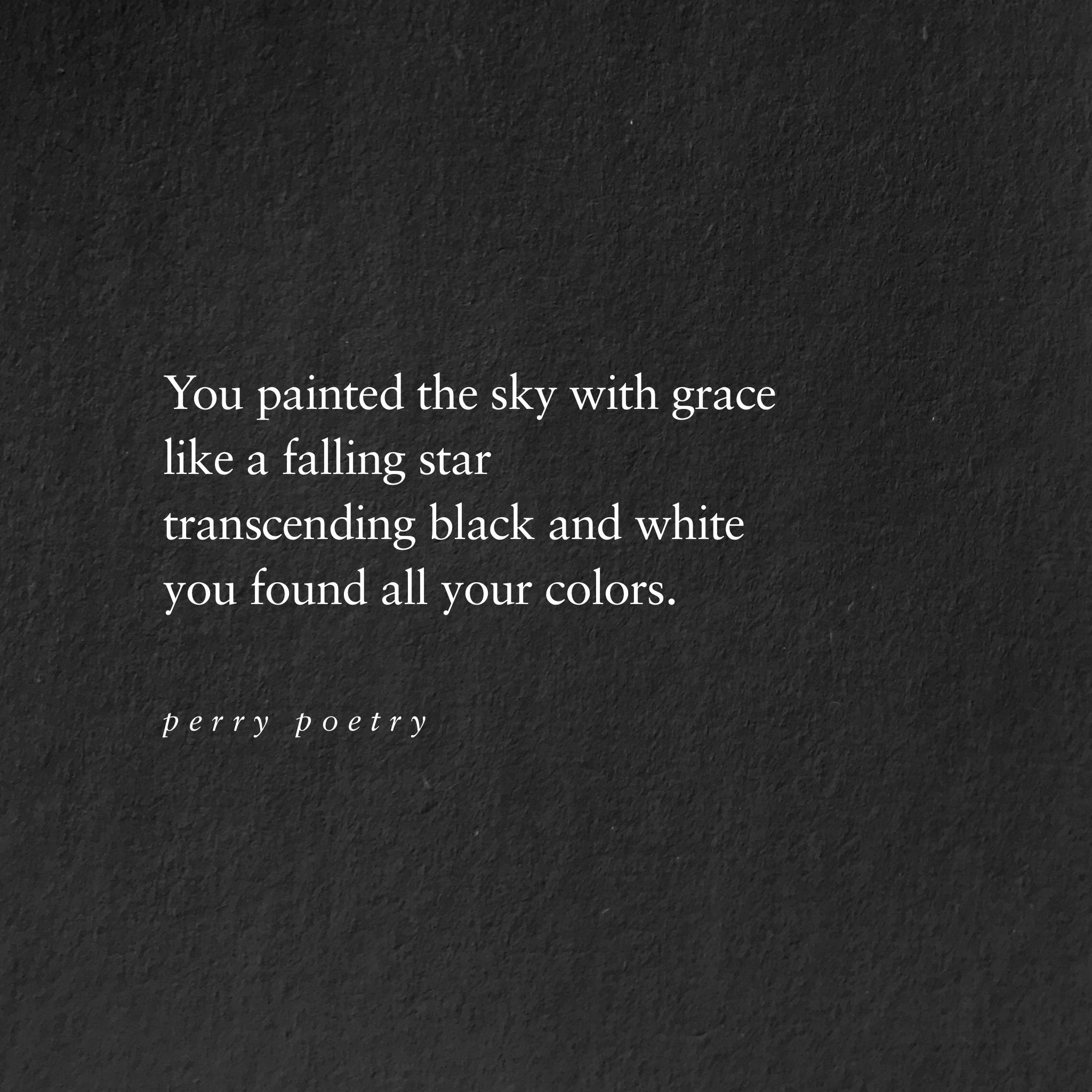 sky poem