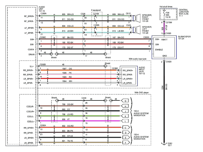 New Kenwood Car Stereo Kdc 248u Wiring Diagram Electrical Wiring Diagram Trailer Wiring Diagram Ford Explorer
