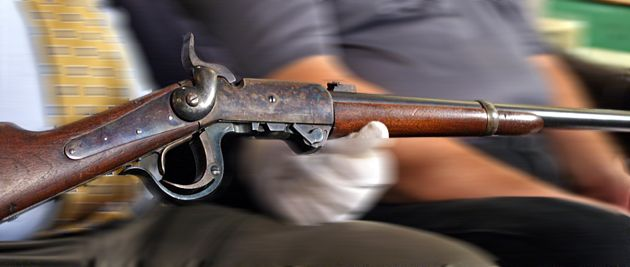 See a Burnside Breechloading Carbine short rifle at NRA