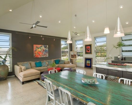 The Neoteric Classic   Modern   Family Room   Hawaii   Archipelago Hawaii,  Refined Island Designs   Table