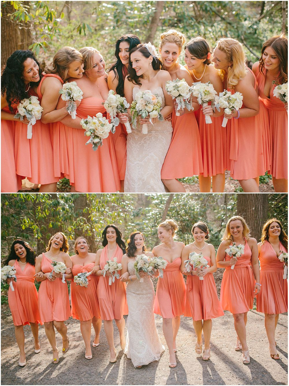 Aesthetic blue grunge light pale pastel peach pink sky softgrunge peach pink coral bridesmaids emily delamater photography ombrellifo Image collections