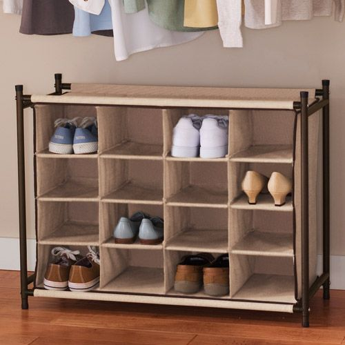 Shoe Racks And Organizers Alluring Actually This Is The Type Of Rack I'm Lookin For For My Shoesi'd Decorating Inspiration