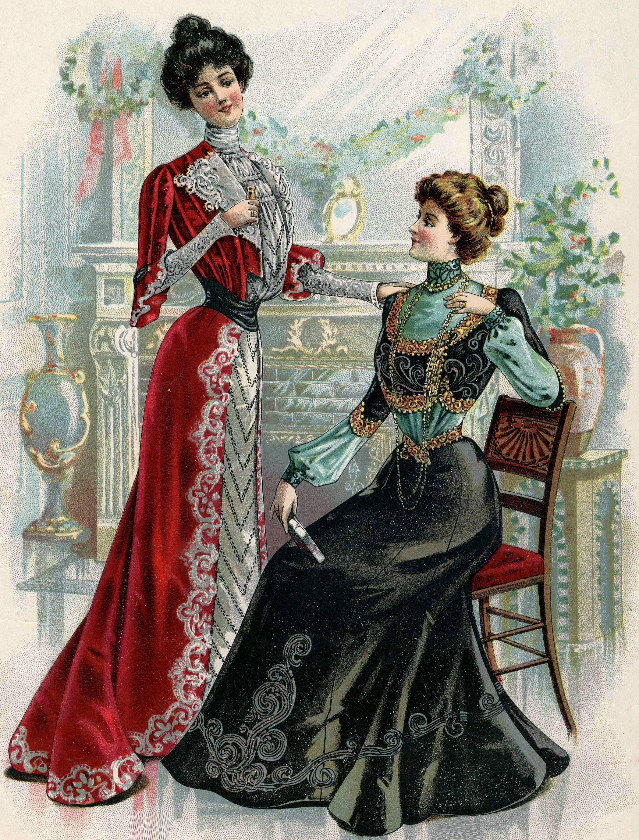 Edwardian Fashion, 1900 Fashion