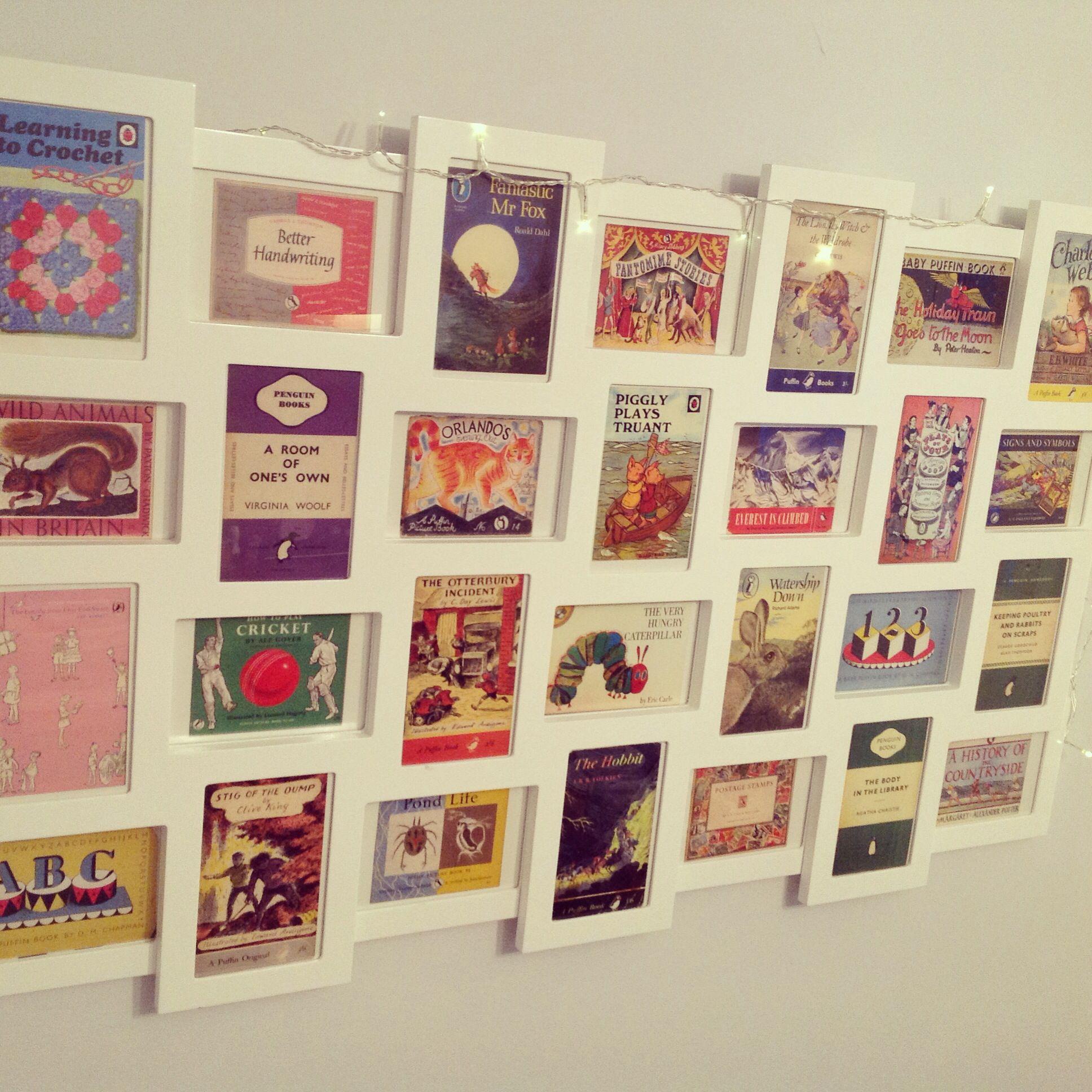 Vintage Penguin Book Cover Postcards : Penguin book cover postcards bedroom pinterest