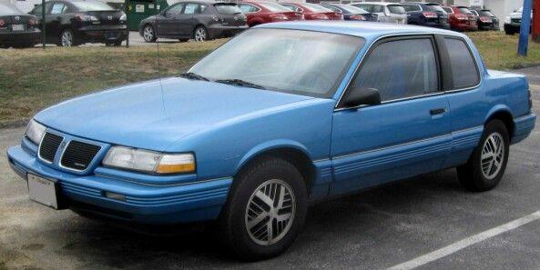 1988 1991 Pontiac Grand Am 2 Door Coupe Pontiac Grand Am Pontiac Grands