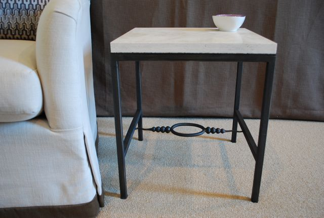 Lucy Smith Designs side table