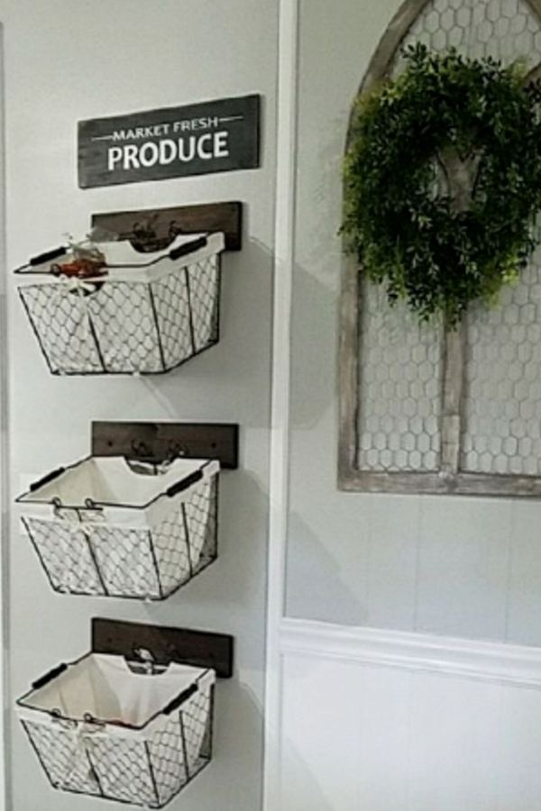 Diy Hanging Fruit Basket Ideas And Pictures Unique And Easy Wall Mounted Fruit Baskets Clever Diy Ideas Hanging Baskets Kitchen Kitchen Wall Storage Wall Basket Storage
