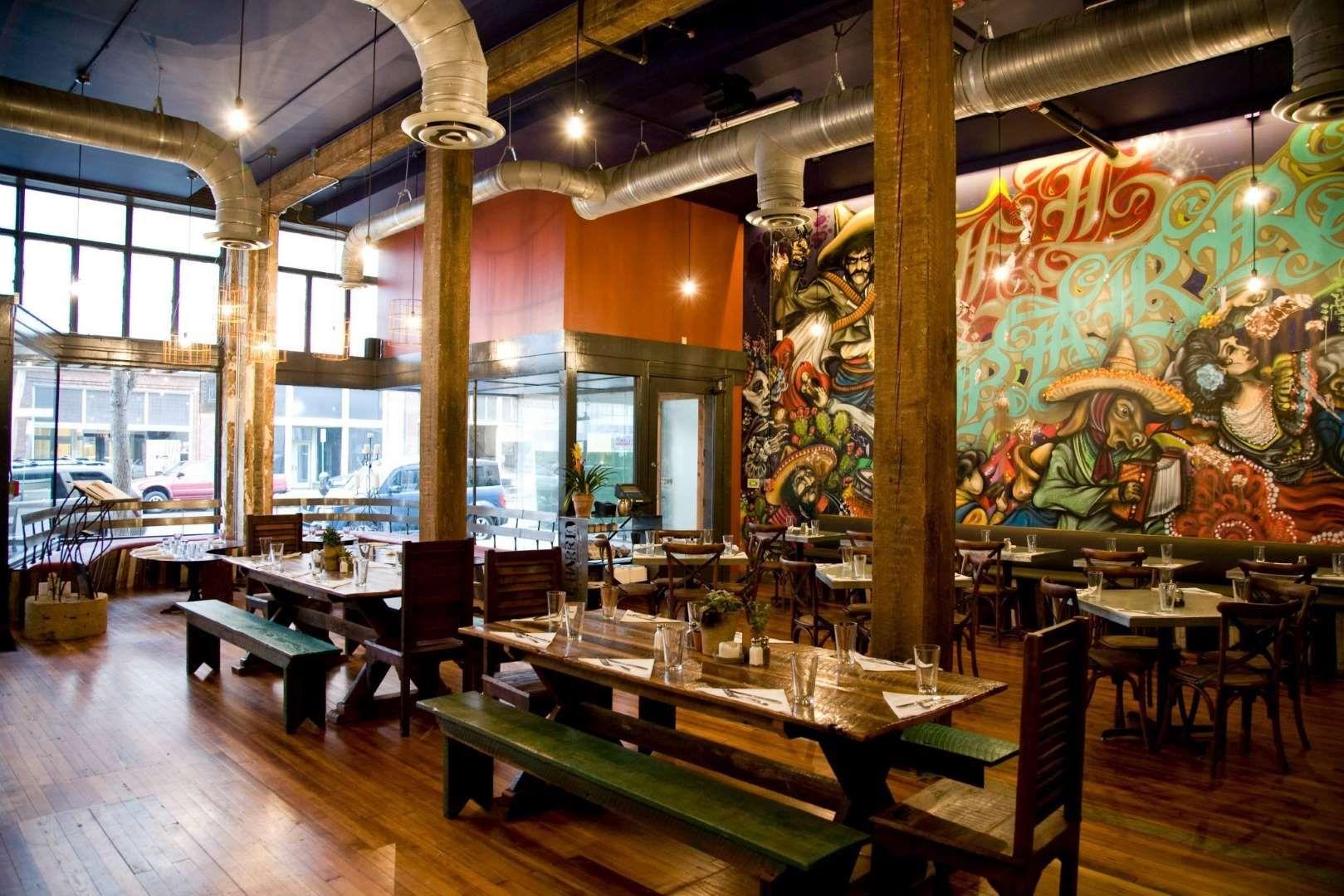 City Birminghamdowntown Birmingham S El Barrio Is Nothing Short Of Spectacular Because Of Its Off Best Mexican Restaurants Mexican Restaurant Restaurant