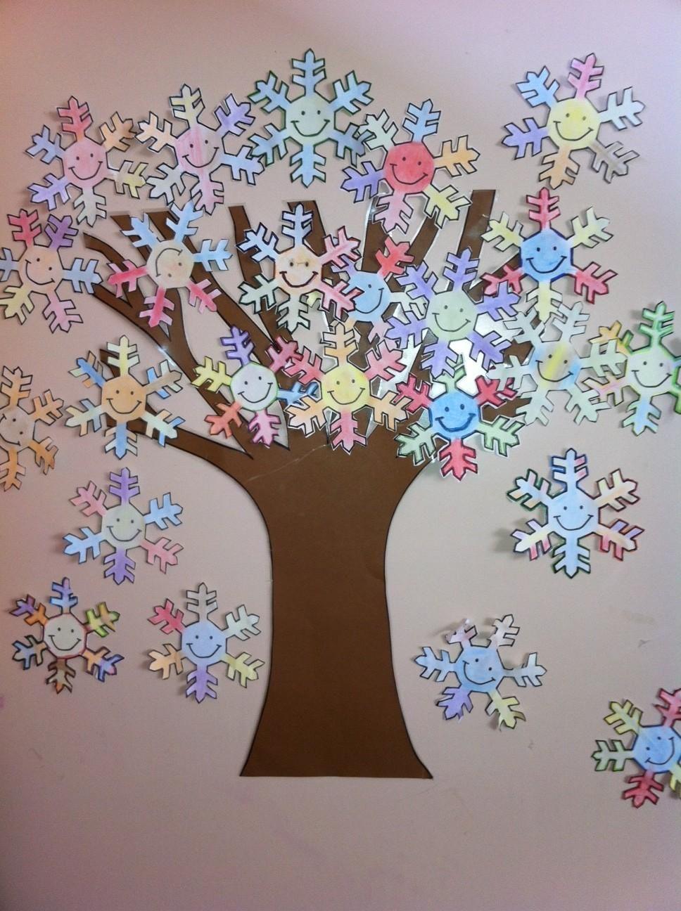 árbol de invierno   material didáctico   Pinterest   Árboles de ...