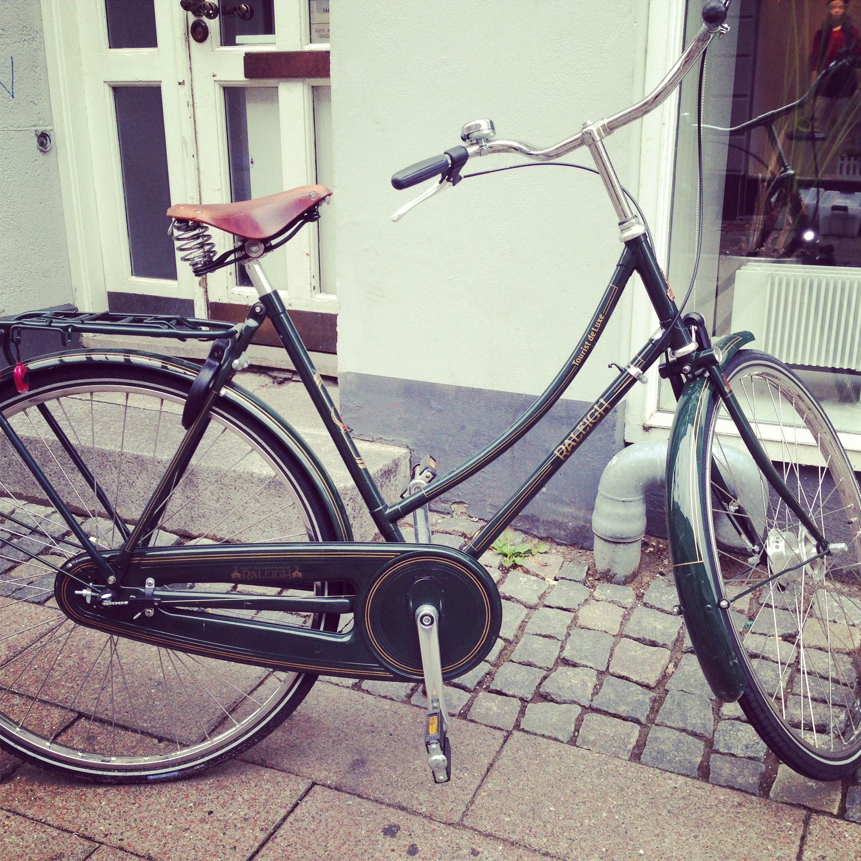 vintage raleigh bike in denmark bicycle. Black Bedroom Furniture Sets. Home Design Ideas