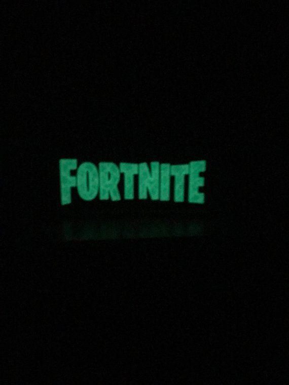 Glow In The Dark Fortnite Logo Products Purple Gold Blue Orange
