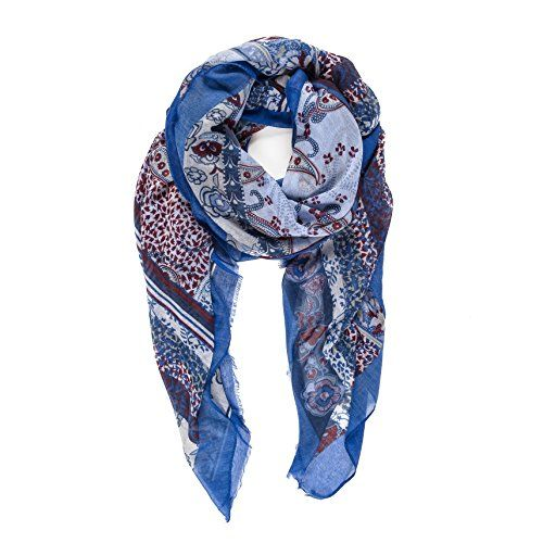 495264e7f47b1 Check Scarf for Women Lightweight Floral Flower Fashion Scarves for Spring  Shawl Wrap. Explore our Women Fashion section featuring new #shopping ideas  of ...