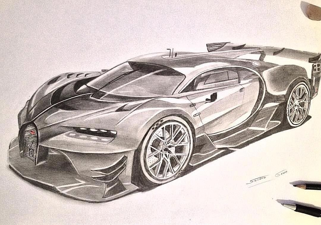 How Many Likes For This Piece Of Art By Car Draws Sandro