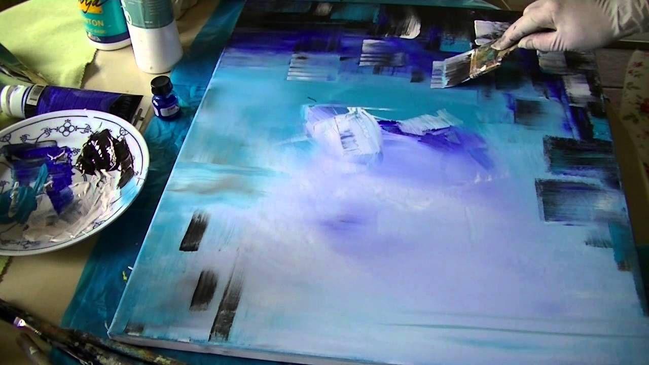 Sabine Belz Acrylmalerei Abstrakt Idee Farbe Abstrakte Kunst Malerei