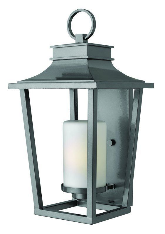 Hinkley Lighting 1745bk Black 1 Light Outdoor Lantern Wall Sconce From The Sullivan Collection Lightingdirect Com Outdoor Wall Sconce Outdoor Light Fixtures Outdoor Wall Lantern