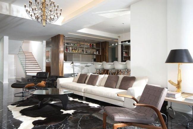 Stunning Cuisine Et Salon Moderne Ideas - Design Trends 2017 ...