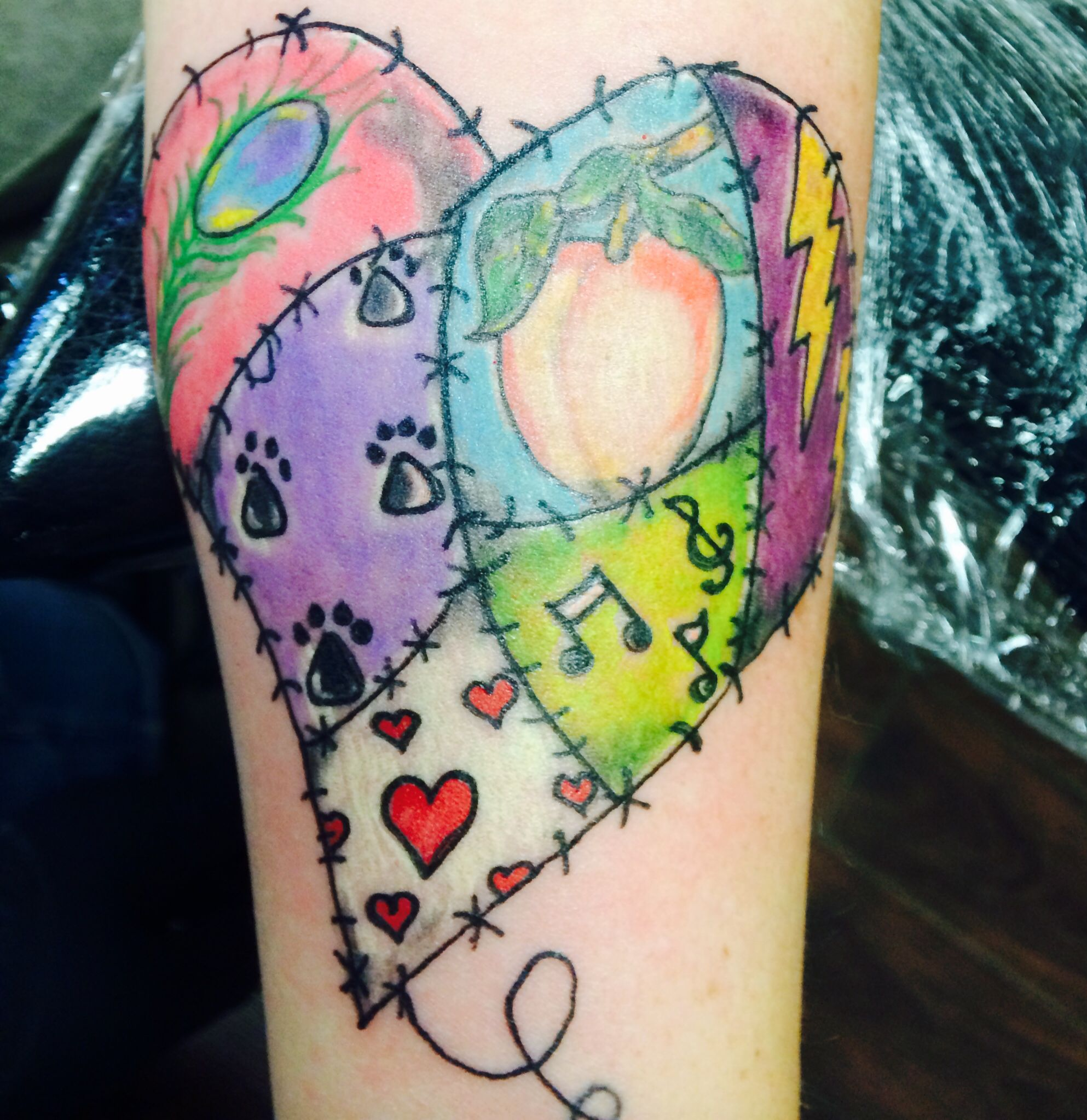 designs for a patchwork quilt tattoo - Google Search | tattoo ... : quilt heart tattoo - Adamdwight.com