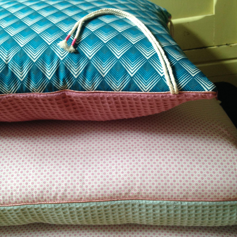 coussins, tour de lit, bébé, décoration, chambre d\'enfant, rose ...
