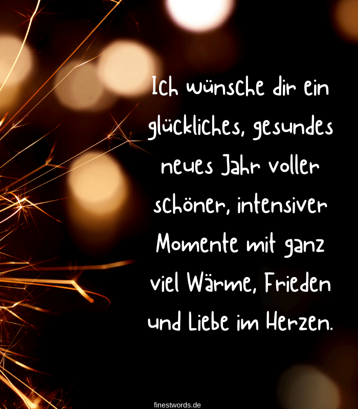 de 44 sayings at the turn of the year - finestwords.