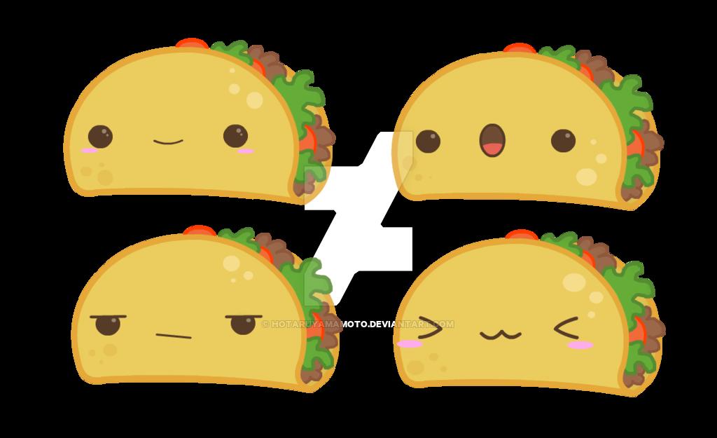 Kawaii Taco Chibi Tacos By Hotaruyamamoto On Deviantart Taco Drawing Taco Tattoos Chibi