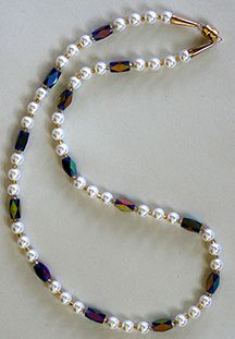 Pearls & metallics...