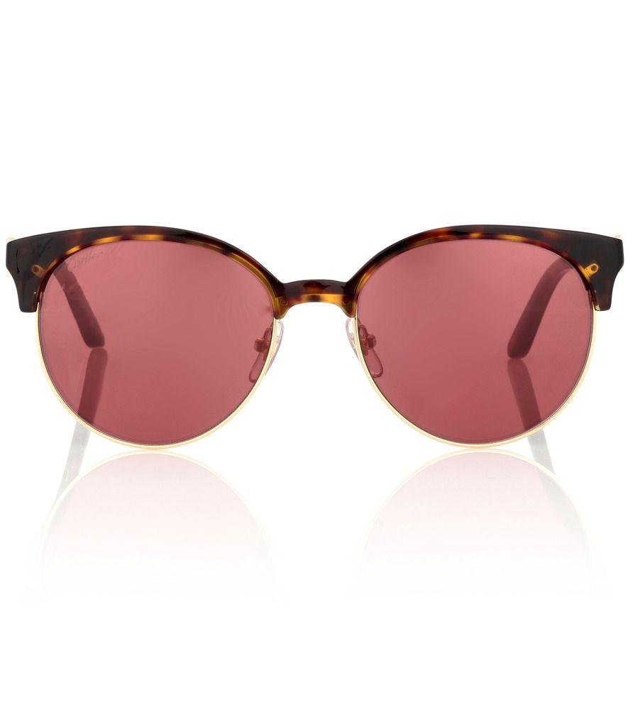 C de Cartier round sunglasses