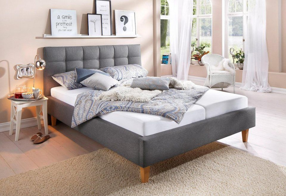 home affaire polsterbett tom josh pinterest bett schlafzimmer and polsterbett. Black Bedroom Furniture Sets. Home Design Ideas