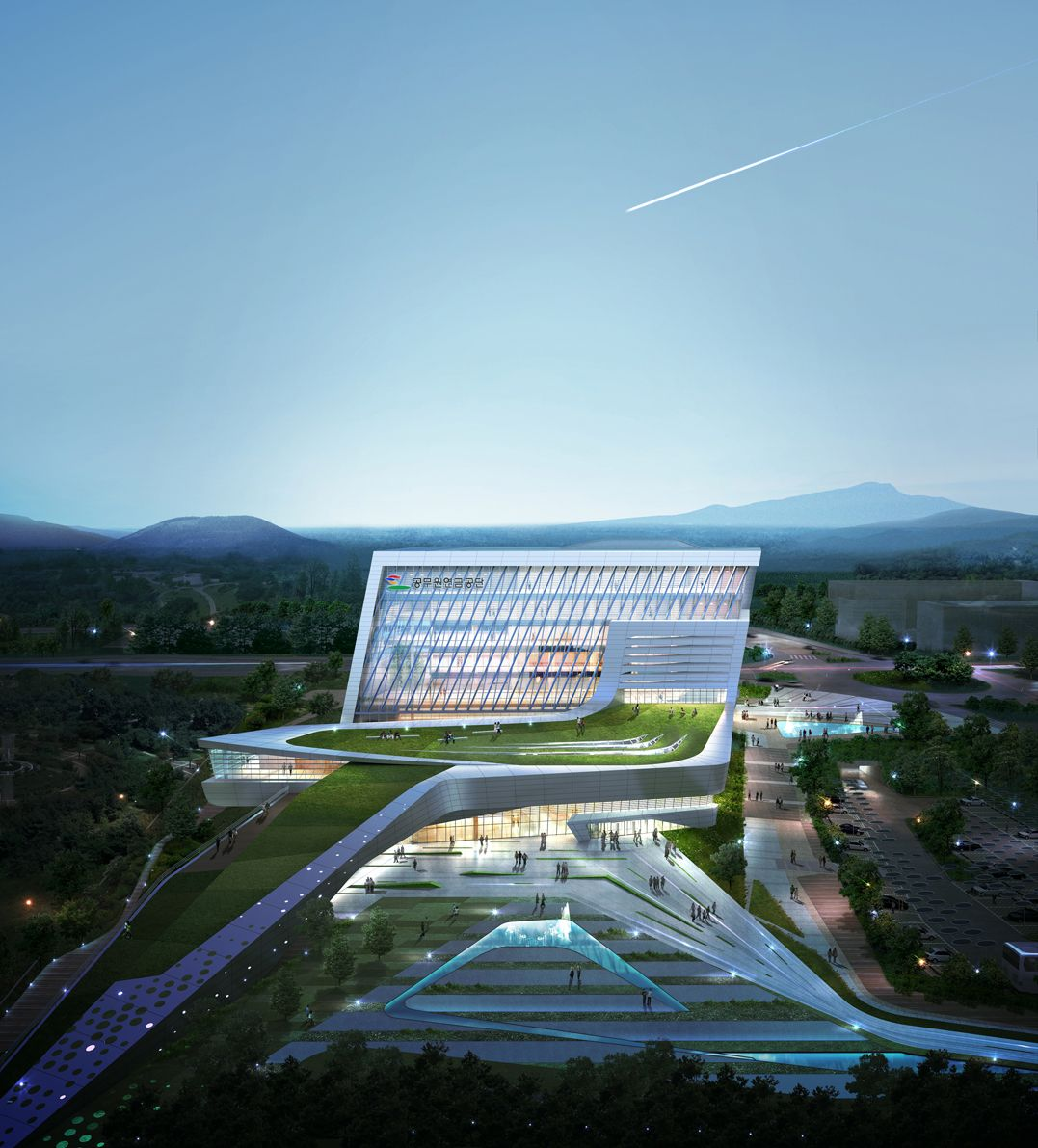 Arch2o New Headquarters For Geps Proposal Tomoon Amp Haema