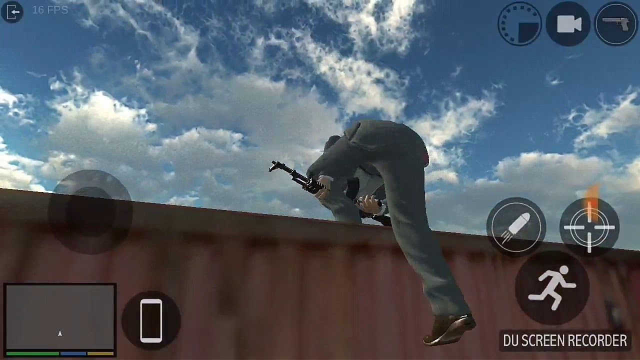 GTA on android beta Game frommobpark Record du screen