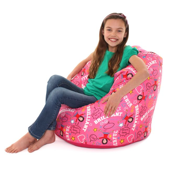 Prime Jacqueline Wilson Kids Classic Bean Bag Tracy Beaker Ocoug Best Dining Table And Chair Ideas Images Ocougorg
