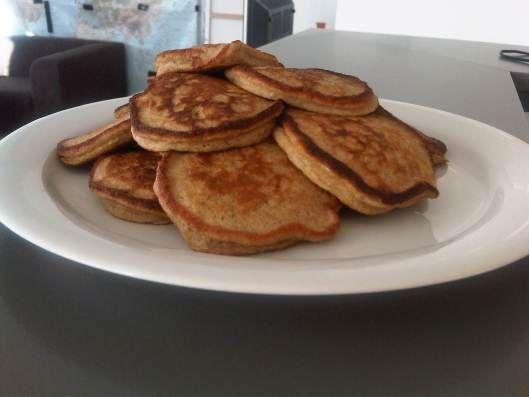 pastinaak-zoete aardappel pannenkoekjes