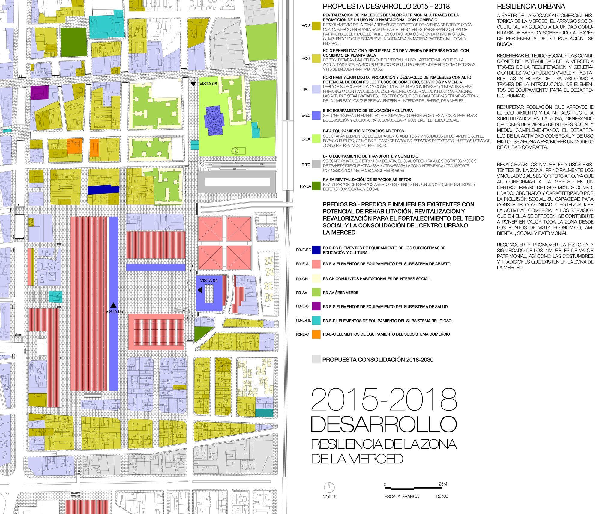 Galería de Primer Lugar Concurso Anteproyecto Conceptual para el Plan Maestro de La Merced en Ciudad de México – 9
