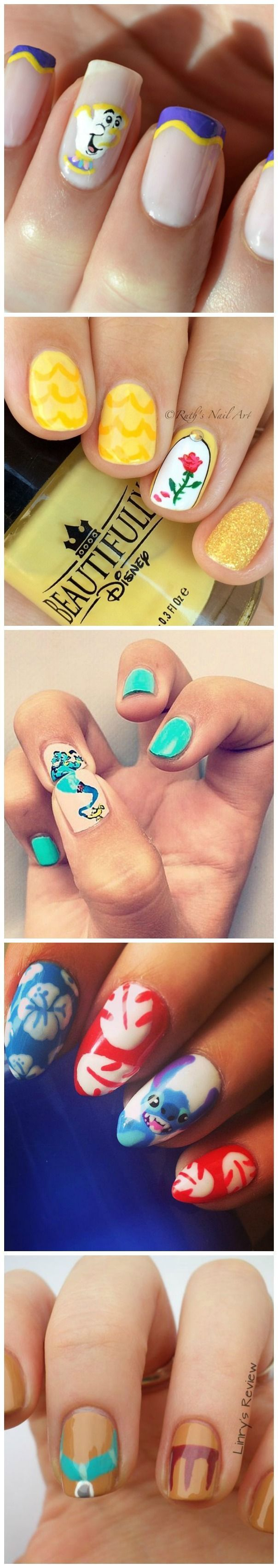 These 21 Disney Nail Art Ideas Will Make You Want To Get A Magical ...