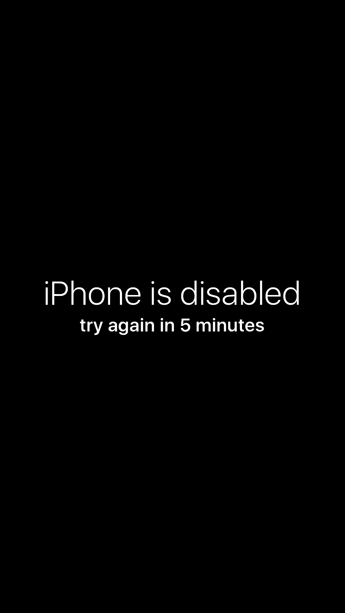 "April Fools! The ""iPhone is Disabled� Wallpaper Prank"