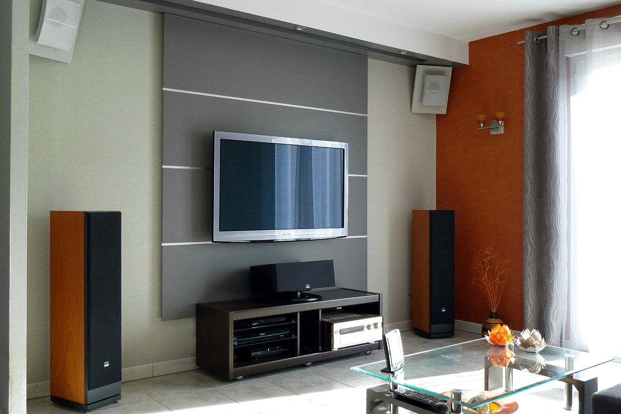 Pingl par mar pat sur hifi pinterest - Salon home cinema ...