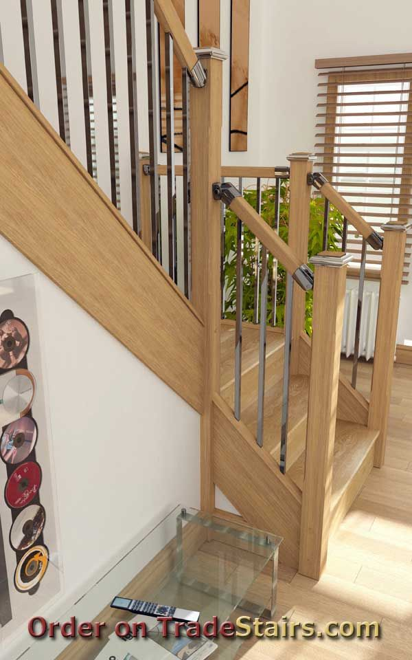 Best Axxys Squared Axxys Colours Handrail Fittings Stair 400 x 300