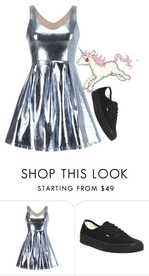 """""""Gwenn"""" by selinalindroth ❤ liked on Polyvore featuring Vans"""