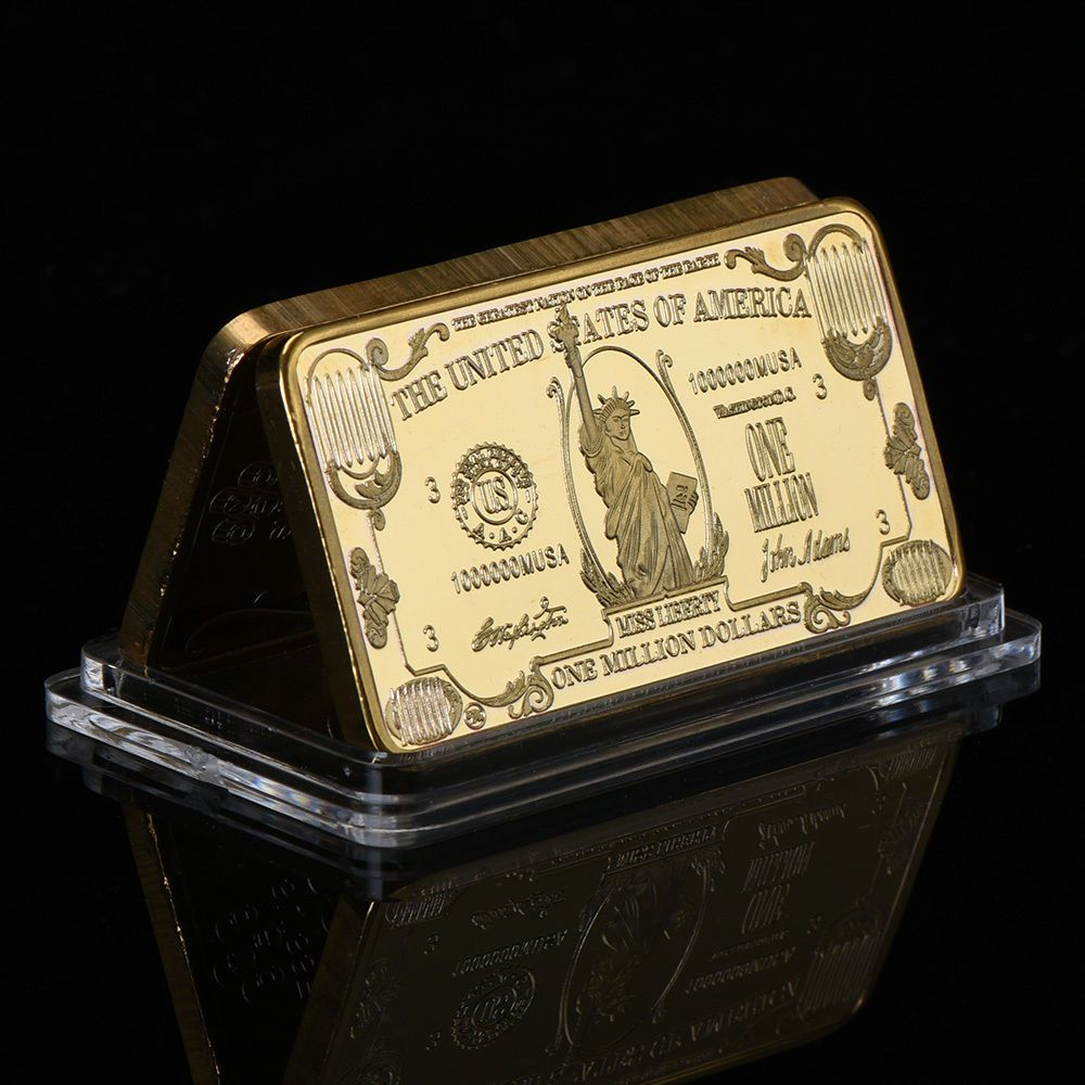 WR 8PCS American US $1 $100 Dollar Silver Bar Sets //w Capsule Presents for Men