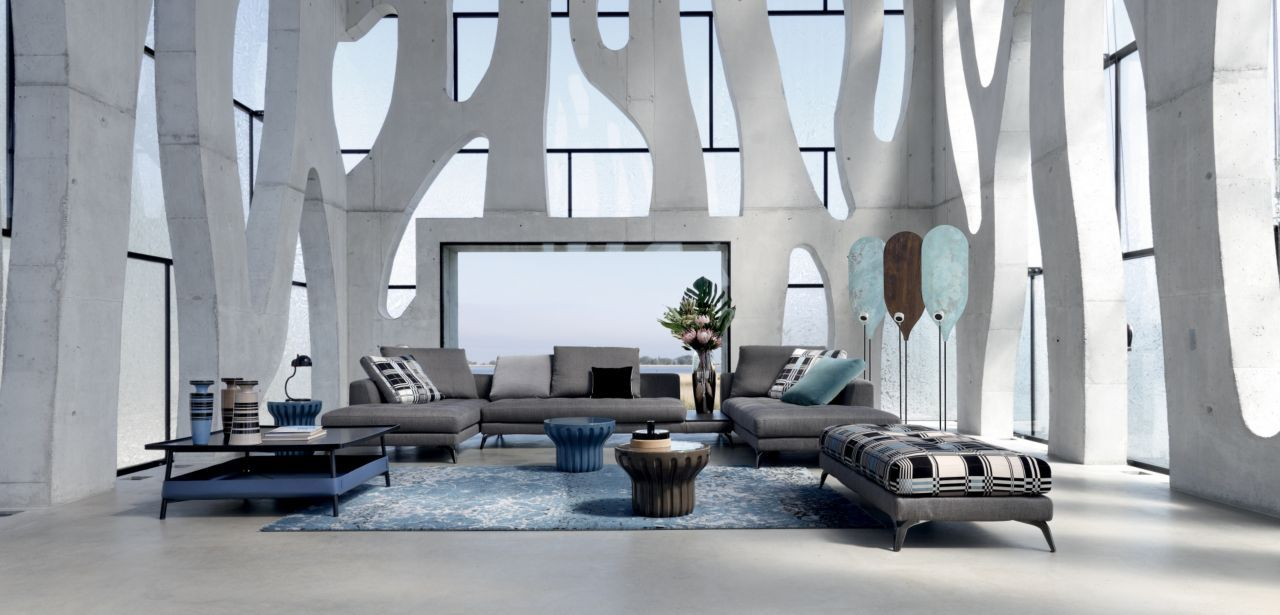 Roche Bobois Symbole Corner Sofa Design Sacha Lakic Home  # Muebles Roche Bobois