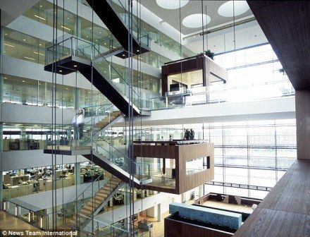 Europes Coolest Offices: Nykredits Office in Copenhagen