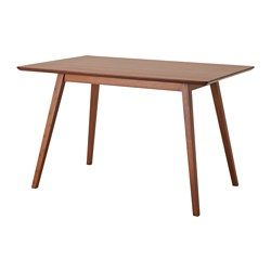 IKEA FANOM Dining Table Table Top Made Of The Very Strong Material Bamboo.