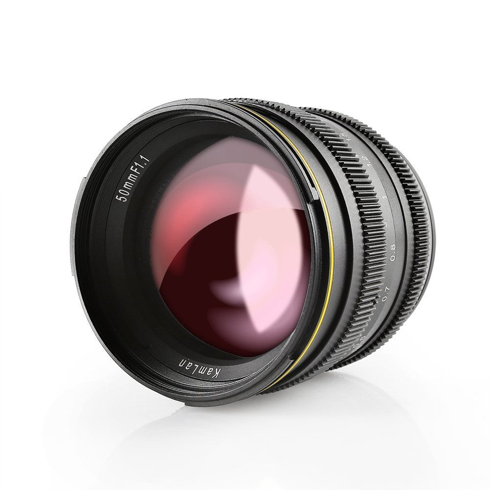 Another new cheap Chinese lens: Kamlan/SainSonic 50mm f/1 1