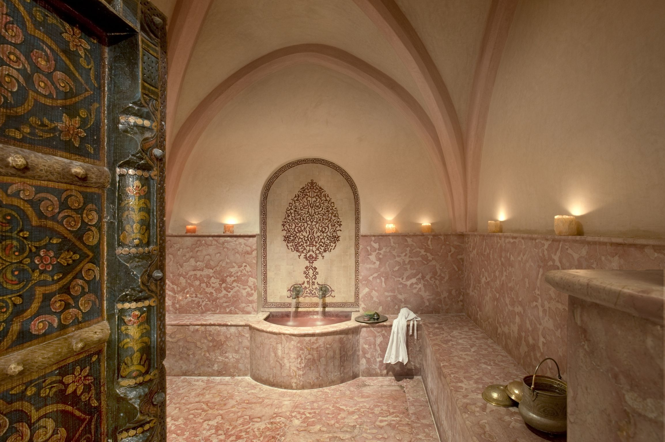Magic hammam at la Sultana