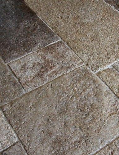 Antique dalle de bourgogne stone floor tiles kitchen - Dalle de bourgogne ...