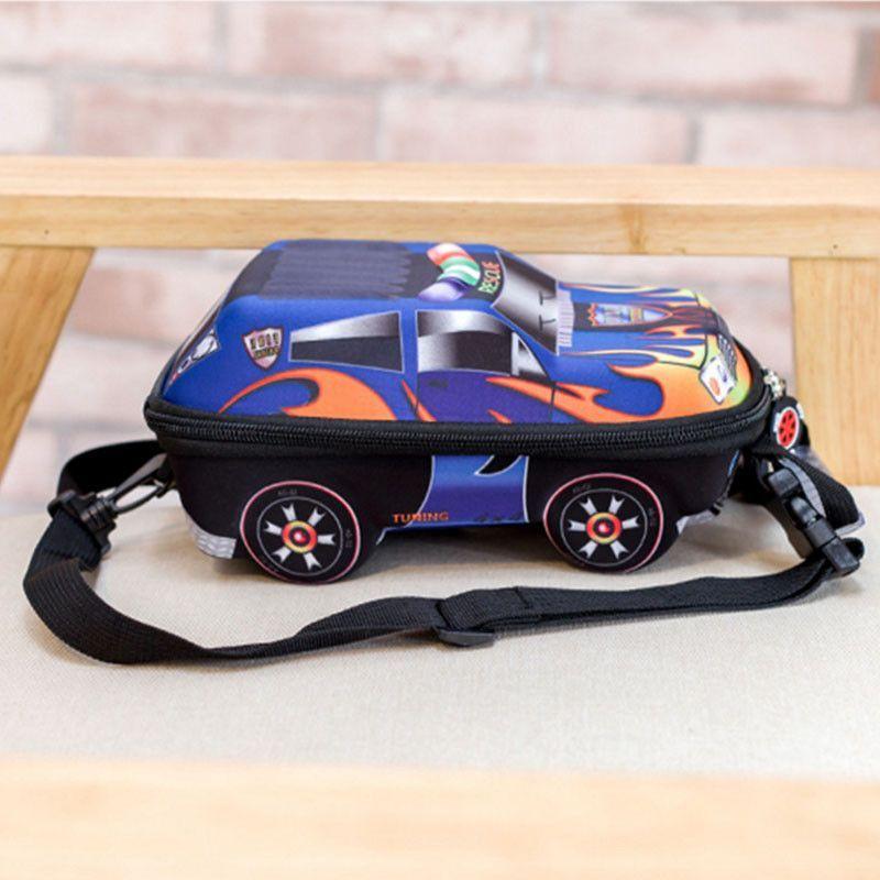 Car School Bag For Children Backpack Kid Kindergarten Baby