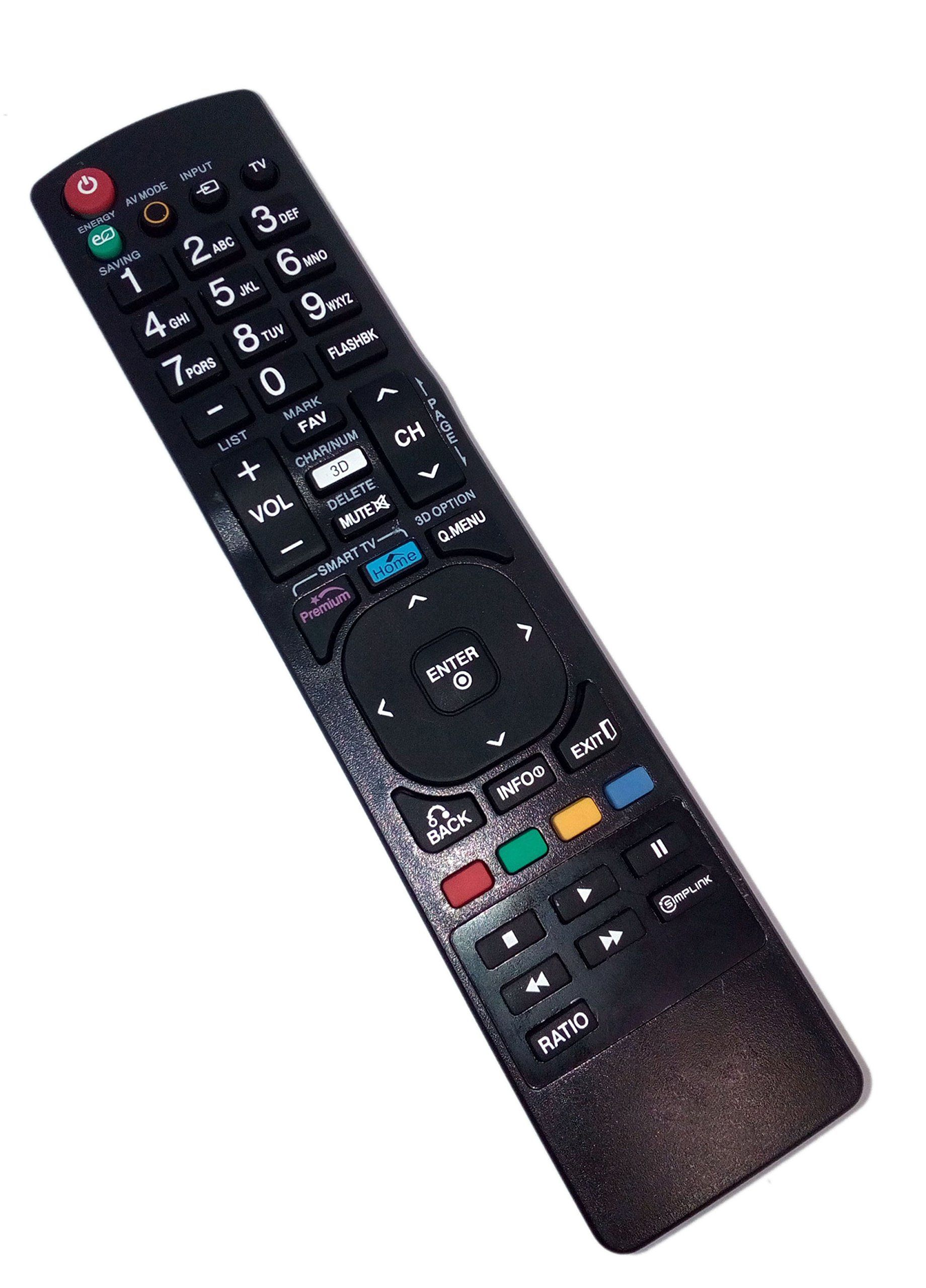 Replaced Remote Control Compatible for LG 55LV5500