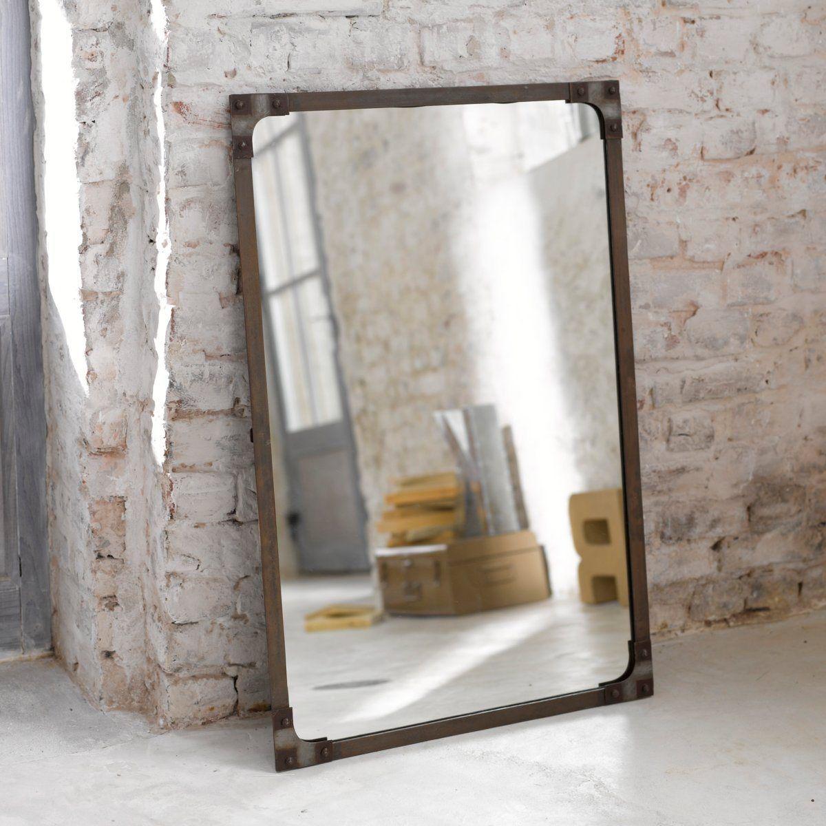 Industrial Le espelho estilo industrial lenaig la redoute interieurs la