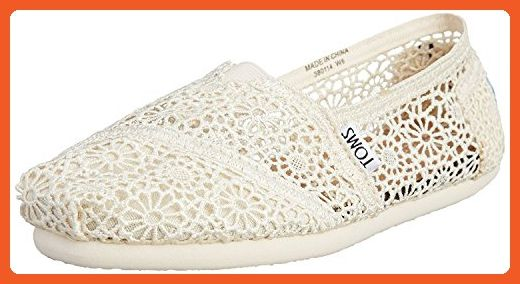 premium selection 73b88 6ef10 TOMS Women's Crochet Classic Slip-on (42-43 EUR/ 12 B(M ...