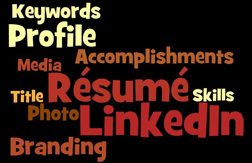 5 components of a résumé and LinkedIn profile that brand you - resume components