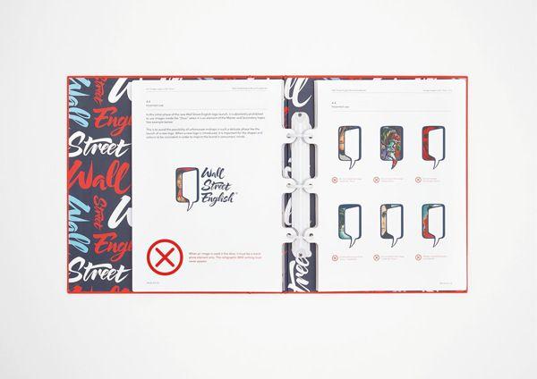 wall street english brand guidelines by luca fontana via on wall street english id=28139
